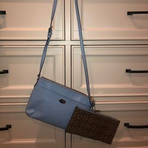 NEW COACH crossbody purse with matching wallet